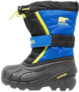 Sorel FLURRY Winter boots black/super blue