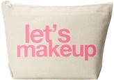 Dogeared Let's Makeup Lil Zip Bag Cosmetic Case