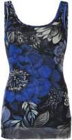 Fuzzi floral print tank top