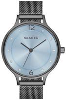 Skagen Women's Anita Crystal Index Mesh Strap Watch