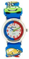 Ravel Boys 3D Funky Cars Design Time Teacher Dial Watch R1513.67