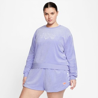 Nike Women's Sportswear Terry Crewneck Sweatshirt (Plus Size)