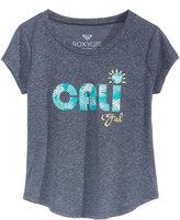 Roxy Cali Girl Crew Neck Graphic-Print T-Shirt, Toddler & Little Girls (2T-6X)