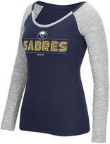 Reebok Women's Buffalo Sabres Marled Slub Tee