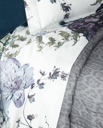 Roberto Cavalli Floris Queen Flat Sheet