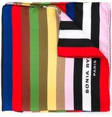 Sonia Rykiel printed stripe scarf - women - Silk - One Size