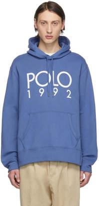 Polo Ralph Lauren Blue 1992 Hoodie
