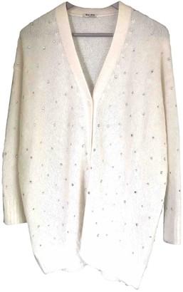 Miu Miu White Silk Knitwear for Women