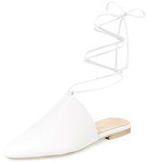 Lace-Up Slide Mule