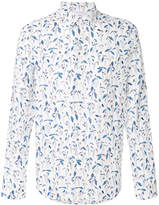 Paul Smith floral print slim shirt