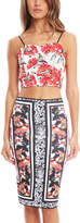 Clover Canyon Frederick Print Crop Top