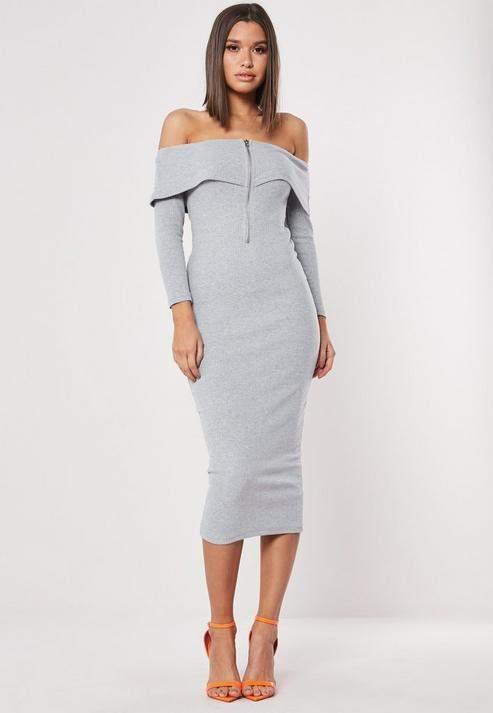 5ab03cd23541 Below Knee Bodycon Dress - ShopStyle