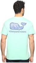 Vineyard Vines Short Sleeve Aquatic Hibiscus Pocket T-Shirt