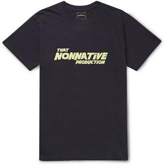 Nonnative Logo-Print Cotton-Jersey T-Shirt
