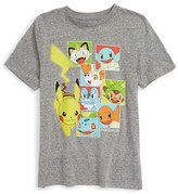 JEM Toddler Boy's 'Pokemon - Starter Boxes' Graphic T-Shirt
