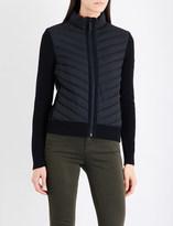 Canada Goose Hybridge merino wool and shell down jacket