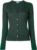 ESTNATION ribbed V-neck cardigan - women - Cotton - 38