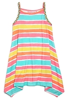 Design History Girls' Striped Dress - Little Kid