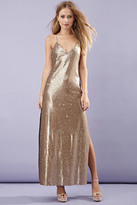 Forever 21 High-Slit Sequined Maxi Dress