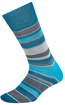 Hugo Boss Boss Single Stripe Socks, Blue/grey