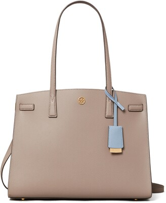 Tory Burch Walker Leather Satchel