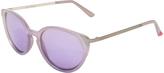 Betsey Johnson Purple Cat-Eye Sunglasses