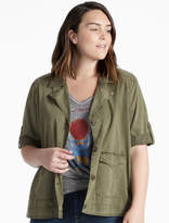 Lucky Brand S/s Military Jacket