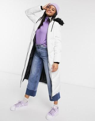 Brave Soul marcella maxi padded jacket