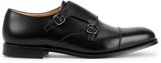 Church's Detroit black leather shoes
