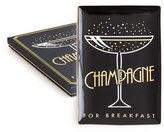 Rosanna Champagne For Breakfast Porcelain Trinket Tray