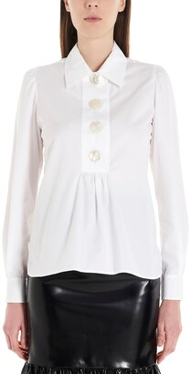 Miu Miu Pearl Button Shirt