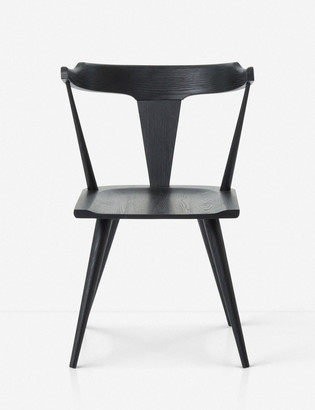 Lulu & Georgia Lawnie Dining Chair, Black Oak