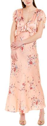 LoveShackFancy Lillian Silk Maxi Dress