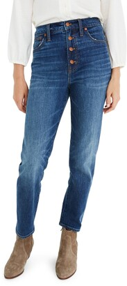 Madewell The Perfect Vintage Jean: Button Front Edition