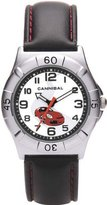 Cannibal Active Boys Black PU Strap Childrens Red Racing Car Watch CJ192-06