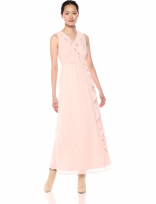 Vero Moda Women's Kenzie Sleeveless Long Ruffle Dress