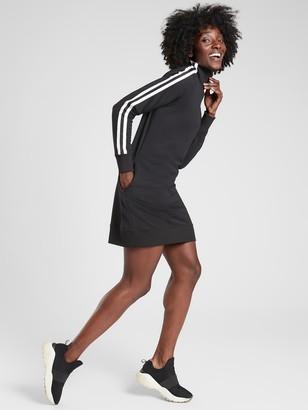 Athleta Circa Track Sweatshirt Dress 2.0