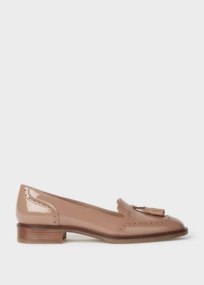 Hobbs Bryony Patent Brogue Loafers