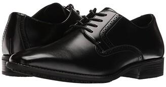 Stacy Adams Ardell Slip Resistant Plain Toe Oxford (Black) Men's Plain Toe Shoes