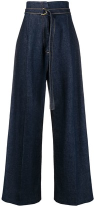 Philosophy di Lorenzo Serafini Wide Leg Denim Jeans