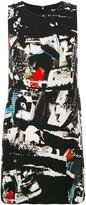 Versus collage print mini dress - women - Polyamide/Polyester/Spandex/Elastane/Viscose - 38