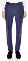 Sandro Notch Flannel Slim Fit Trousers