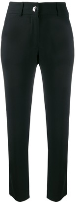 Philipp Plein Crystal Cropped Trousers