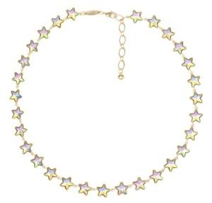Trifari Gold-Tone Star Collar Necklace