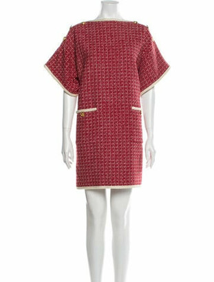 Gucci 2020 Mini Dress w/ Tags Red