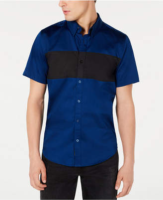 GUESS Men Luxe Colorblocked Shirt