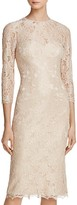 JS Collections Cutout Lace Dress