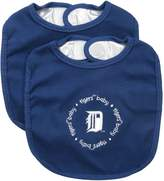 Baby Fanatic Team Color Bibs, Detroit Tigers, 2-Count
