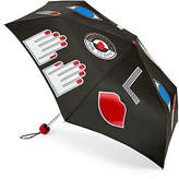 Lulu Guinness Stickers Superslim Umbrella