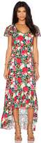 Wildfox Couture Floral Maxi Dress